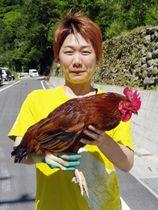 「はたやま夢楽」の社長小松圭子さん=7月、高知県安芸市
