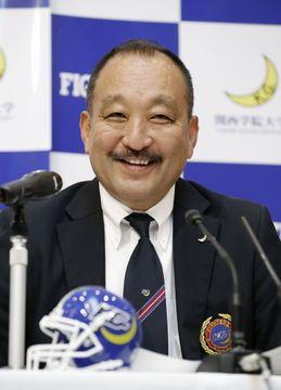 ファイターズは「人生みたいなもの」 勇退の関学大・鳥内秀晃監督が記者会見