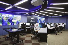 NECのサイバー攻撃監視サービスの拠点