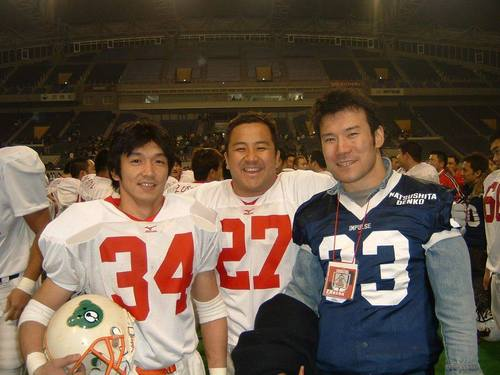 中村多聞さんが尊敬して止まない山口敏彦さん(左)と粳田盛さん