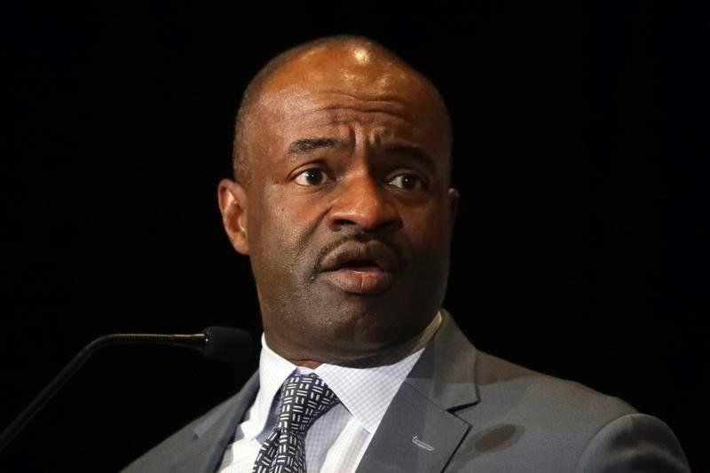 NFL選手会のエグゼクティブディレクター、デモーリス・スミス氏(AP=共同)