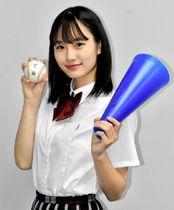 球児を全力で応援したいと意気込む上野さん