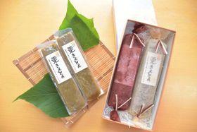美郷町産のクリをたっぷり使った、村の果菓子屋の「栗きんとん」