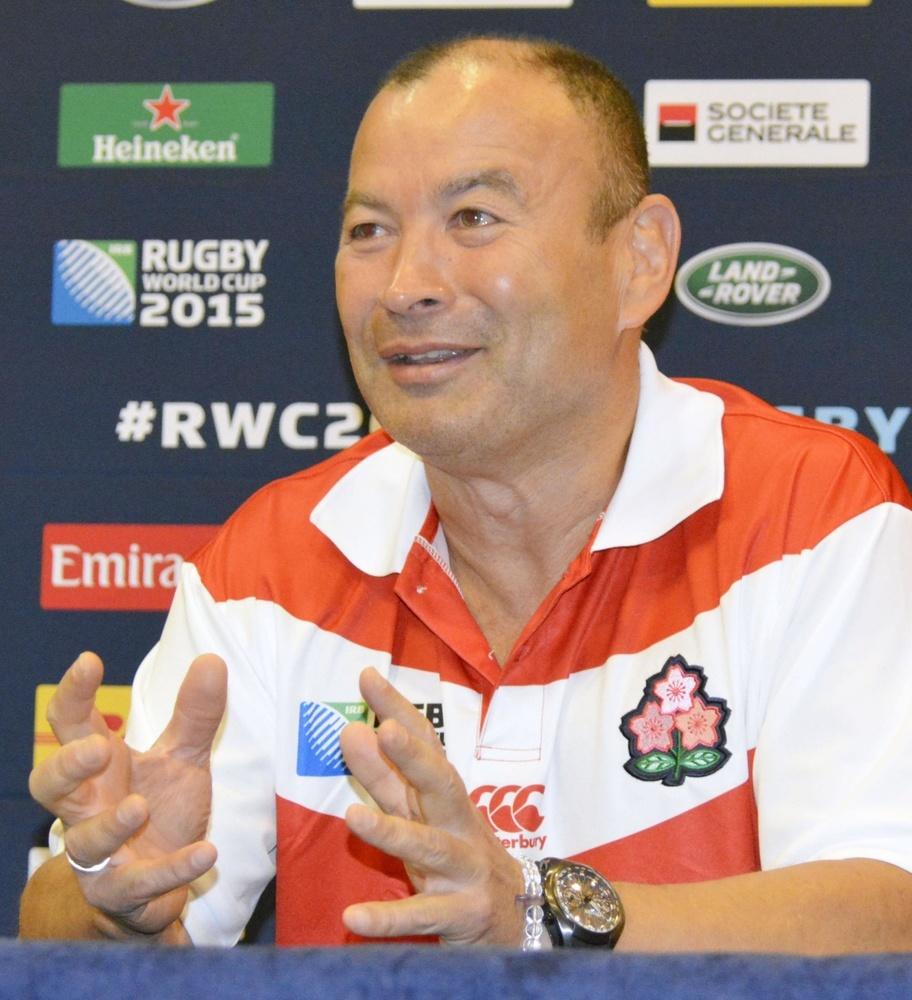 2015年のラグビーワールドカップで日本代表を率いたエディ・ジョーンズ氏