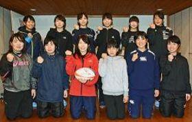 【和歌山県内初の女子ラグビーチーム「パシフィックオーシャンズ7」(パオ)のメンバー】