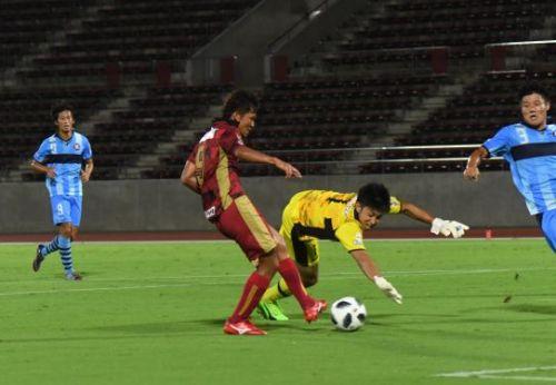 FC琉球白星逃す、横浜と1ー1 5連勝ならず、サッカーJ3
