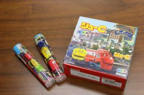 チャギントン」のキャラクターをパッケージにあしらった「ジューC」