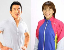 永田克彦さん(左)と浜口京子さん