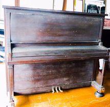 8月9日に演奏される河本さんの被爆ピアノ(ピースボート提供)
