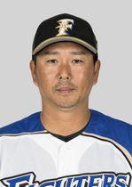 日本ハムの実松一成2軍育成コーチ兼捕手
