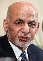 アフガニスタンのガニ大統領(AP=共同)