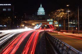 米国会議事堂=22日、ワシントン(ゲッティ=共同)