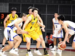 福島東稜が接戦制し初勝利 高校バスケ・ウインターカップ