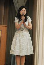 令和のキーワードについて講演する牛窪さん(京都市下京区・からすま京都ホテル)