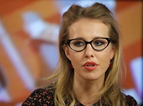 クセーニヤ・サプチャクさん=2012年1月(AP=共同)