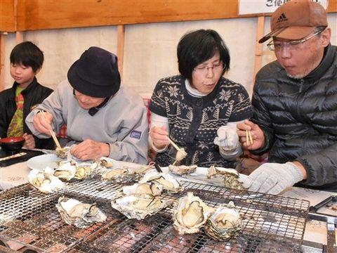 湖西・新居に牡蠣小屋オープン