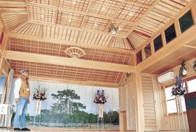来月から加賀市能楽こども教室が稽古を行う能舞台=加賀市大聖寺八間道