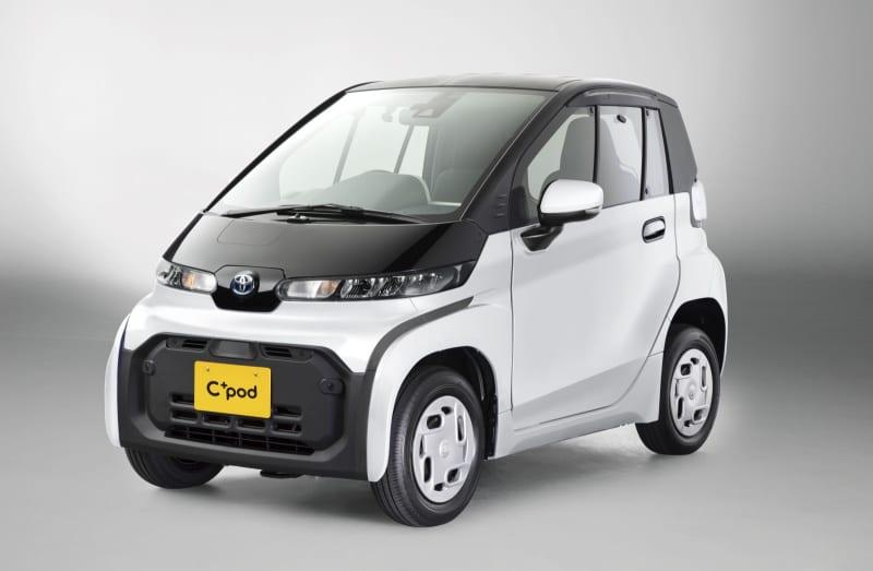 トヨタ自動車が発売した2人乗りの超小型電気自動車「シーポッド」
