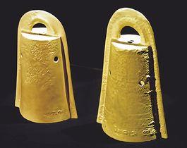 忠実に復元された銅鐸(村上館長提供)