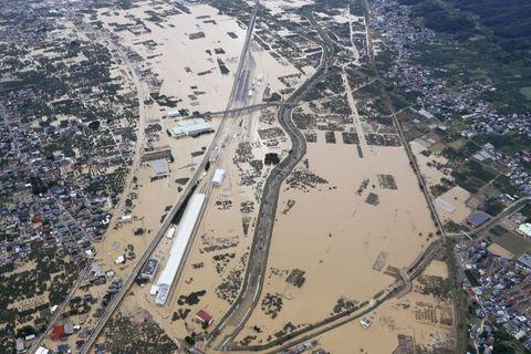 台風死者45人、救助や捜索続く
