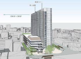 新庁舎素案への意見募集 長崎市、来月22日まで