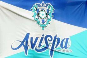 アビスパ福岡の旗