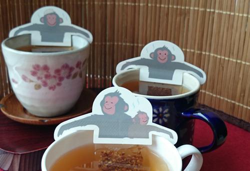 世界が注目する信州湯田中温泉の『スノーモンキー』がそば茶になって登場!!