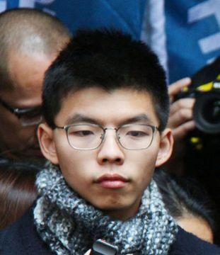 香港「雨傘運動」主導者が出所