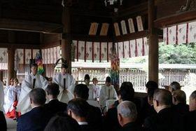 岡山県護国神社で戦没者秋季慰霊祭 県関係5万6千人の冥福祈る