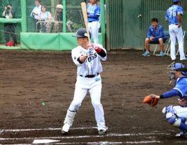 イースタン・DeNA戦に出場した西武・松井