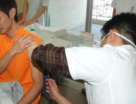 (資料写真)はしかの予防接種