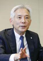 日本製紙の新社長に就任する野沢徹取締役常務執行役員