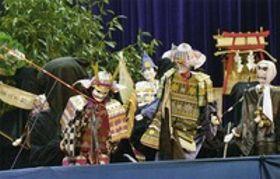 守られる伝統、人形浄瑠璃 都城・山之口
