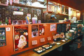 増税後も店内で食べる場合と持ち帰りの価格を同じにする方針の弁当店「さんまるや」=岐阜市柳ケ瀬通で
