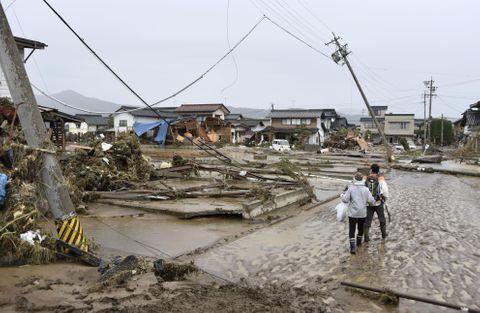 台風による広域停電、5万3千戸
