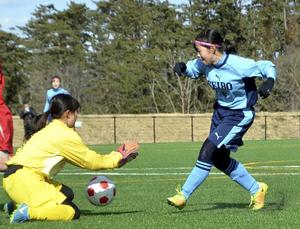 桜の聖母が連覇、準Vは新庄東 U-18女子Jヴィレッジカップ