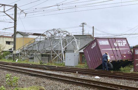 宮崎県延岡市の突風被害