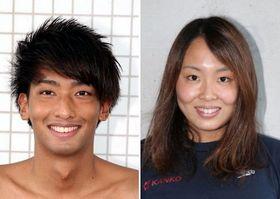 (写真左から)中尾駿一と増田葵