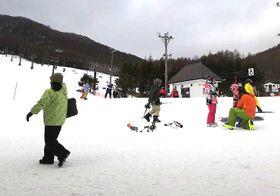 新プランで家族連れの増加を図るエコーバレースキー場
