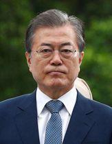 韓国の文在寅大統領(ロイター=共同)