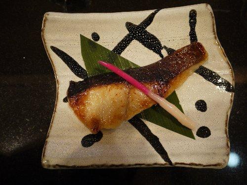 ■自社製味噌の西京焼き