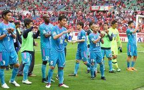 鳥栖は失点の多さが目立ったが、第14節・浦和戦で今季初の無失点を達成した=5月13日、埼玉スタジアム2002