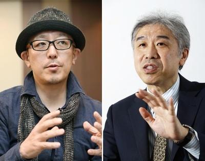 ひきこもり当事者のイベントを運営する川初真吾(左)と神垣崇平。誰もが無関係ではないからこそ、目を背けてはいけないと話す