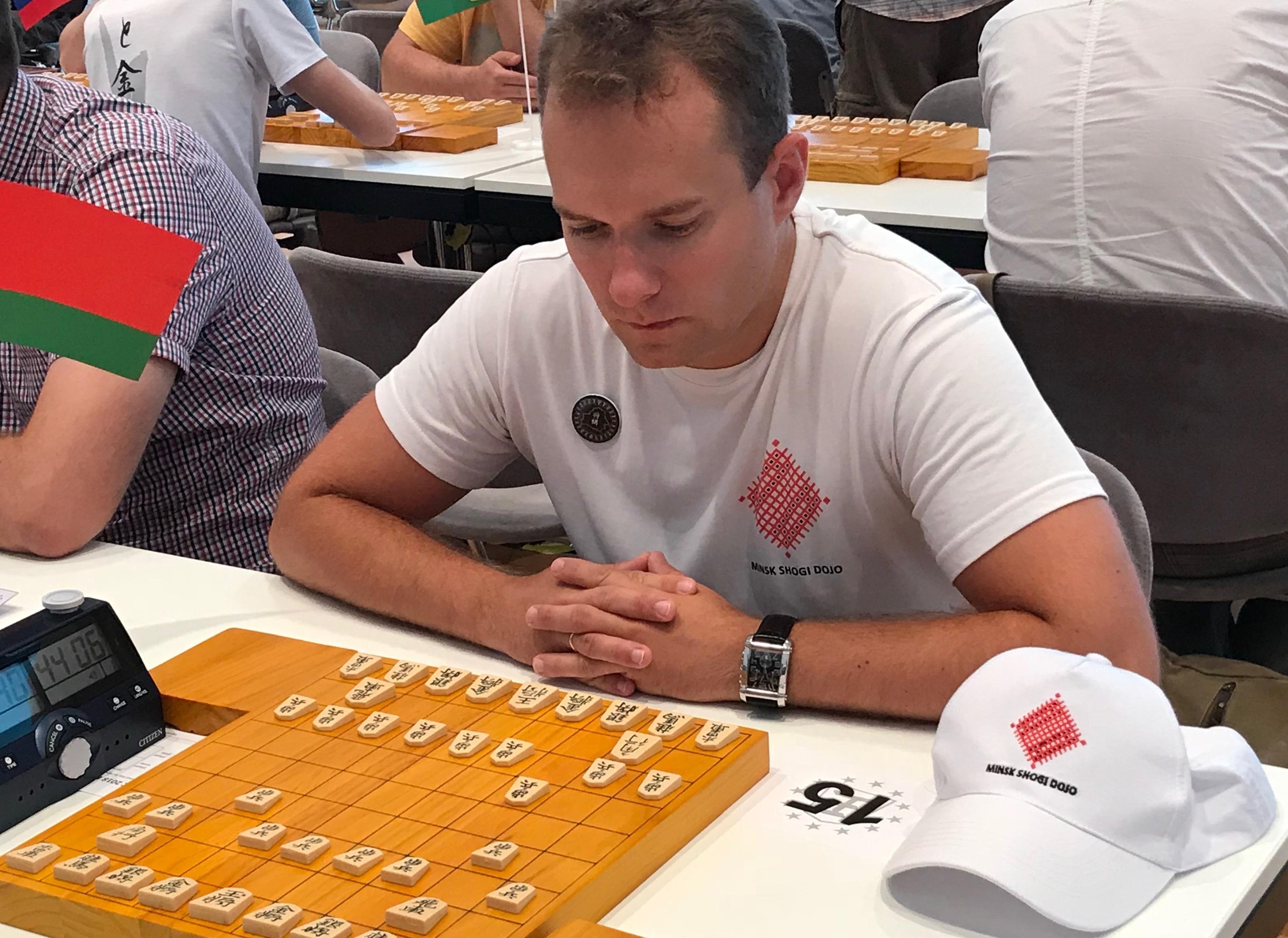 ベラルーシの将棋界を率いるセルゲイ・リセンカさん