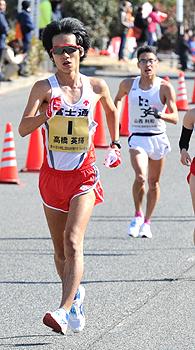 陸上 高橋、終盤に一気 20キロ競歩 日本選手権V4