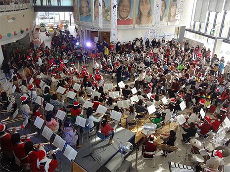 児童館での訪問コンサート(豊橋ユースオーケストラ)