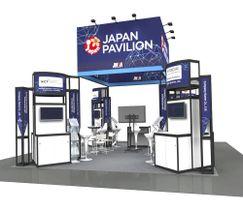 日本パビリオンのイメージ(JNSA提供)