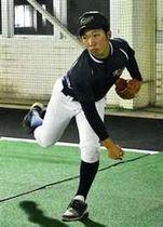 四国ILのドラフト 秋田高専の石井大智投手、高知入団へ