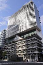 新歌舞伎座跡地に開業する「ホテルロイヤルクラシック大阪」=21日午前、大阪・ミナミ