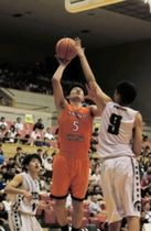 連携に自信、逃げ切る 男子・神戸科技 バスケ兵庫県予選